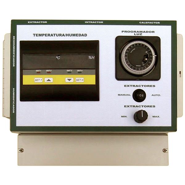 Cuadro Eléctrico Multifunción: Iluminación, Calefacción, Extracción - Intracción con Control de Velocidad Humidificador y Deshumidificador